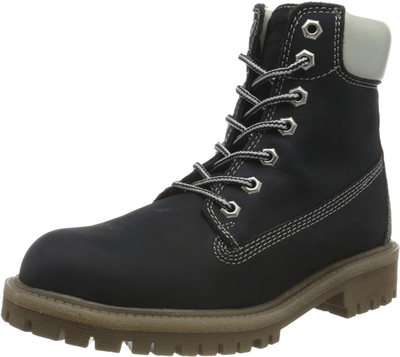 TOM TAILOR Women's 9099601 Mid Calf Boot, Navy, 9.5
