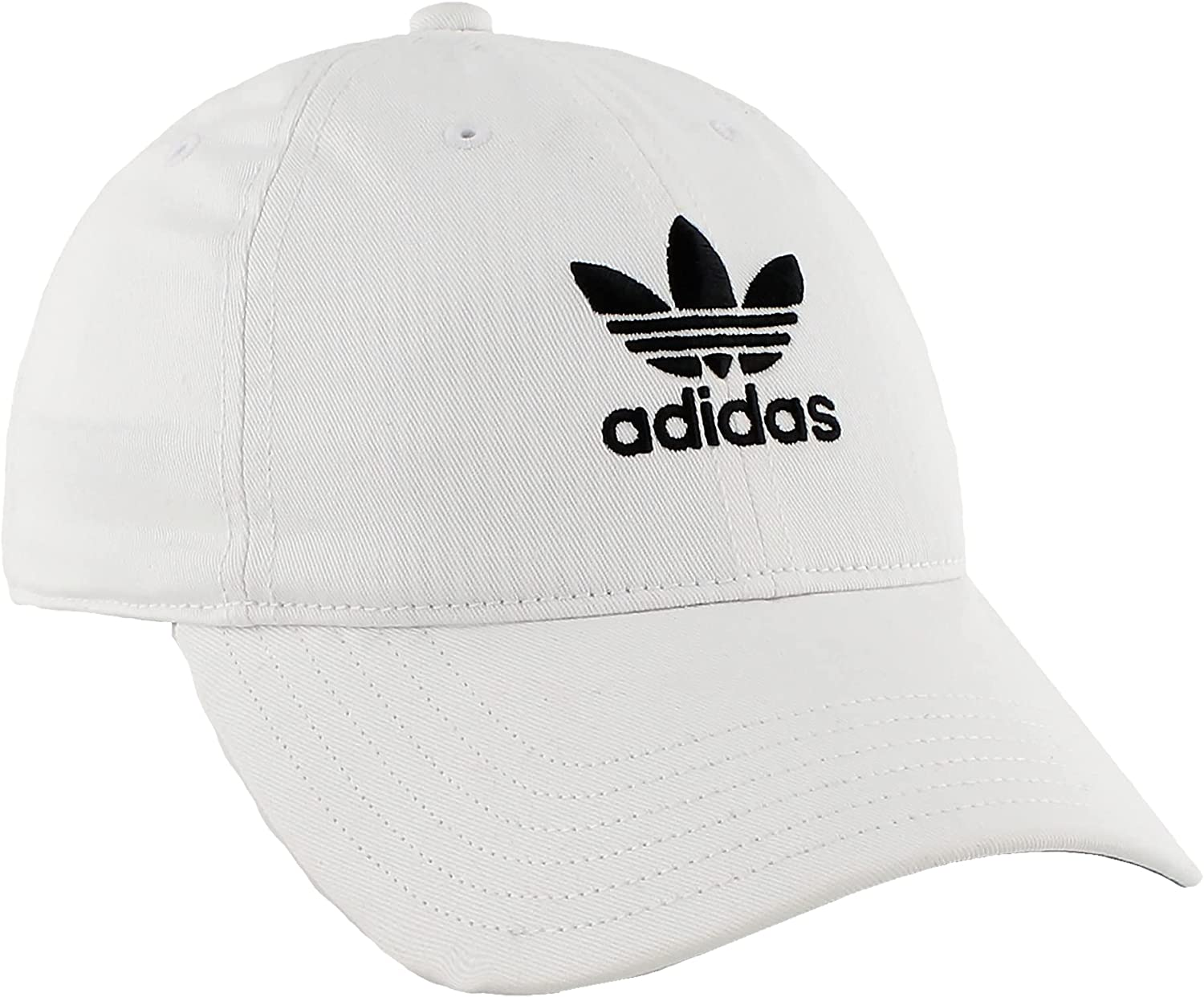 adidas 5 popular Men's Metal Logo 2 Strapback Relaxed Cap Fit All stores are sold