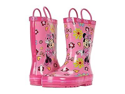 Josmo Kids Minnie Rain Boot (Toddler/Little Kid) (Fuchsia) Girl