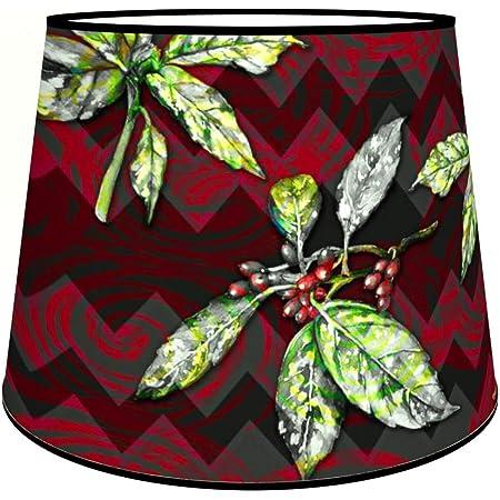 Abat-jours 7111304716108 Conique Télio Lampadaire, Tissus/PVC, Multicolore