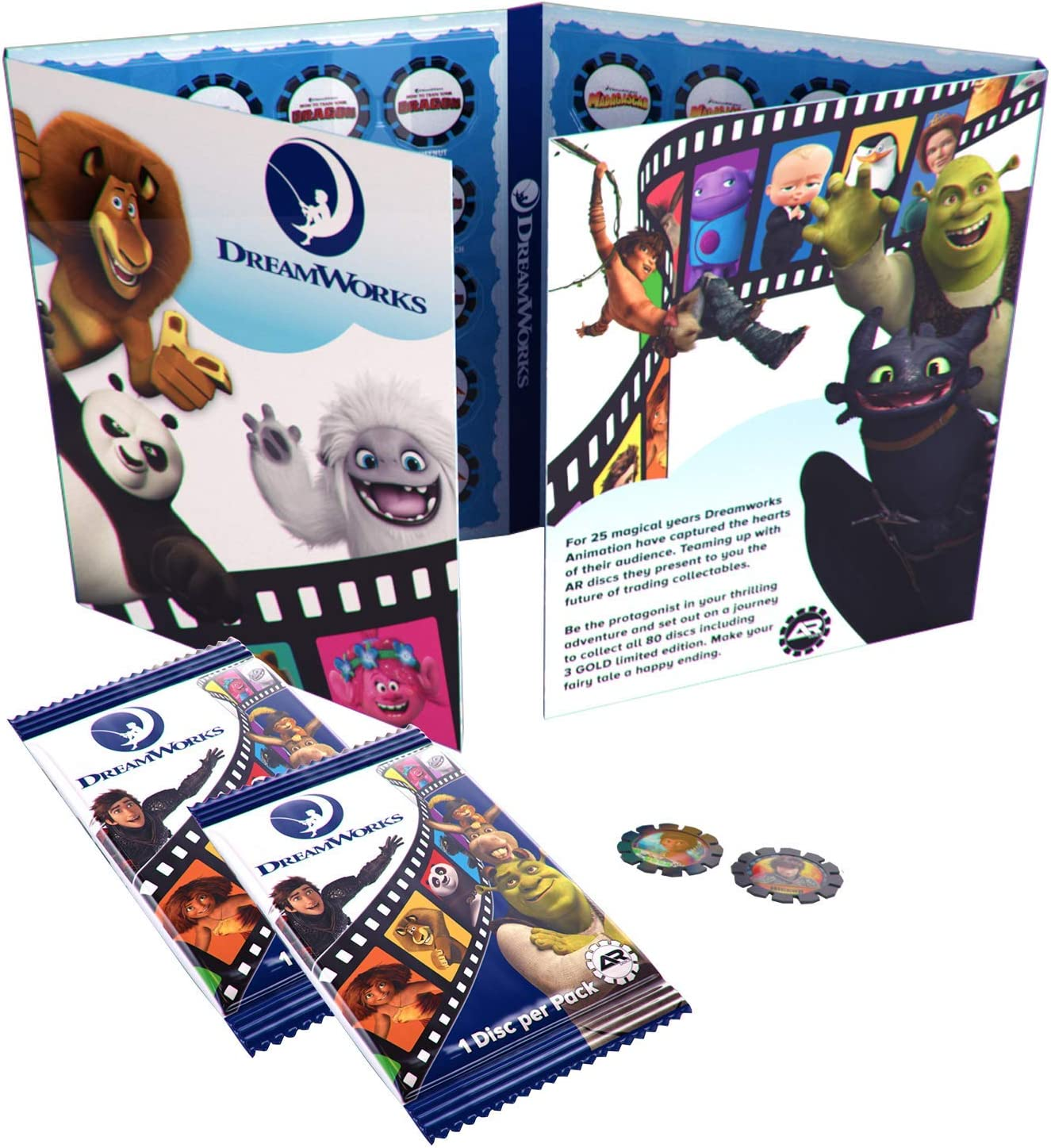 AR Discs Augmented Reality Collectible – Starter Pack (Collectors...