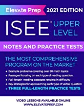 ISEE Upper Level: Notes and Practice Tests