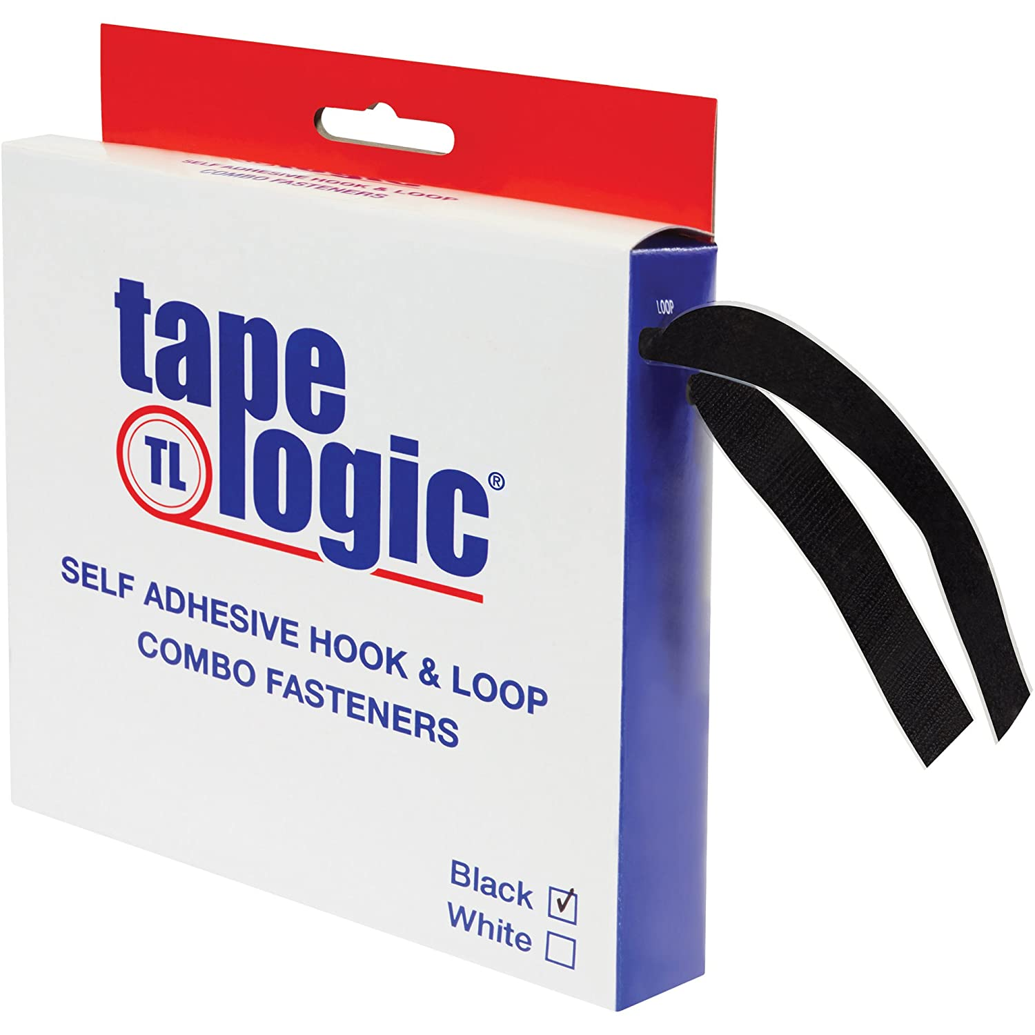 Boxes Fast Tape Logic Combo Pack 15' Strips Black Quantity limited Over item handling ☆ x 1