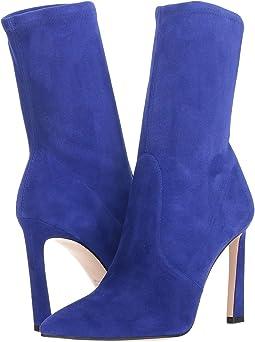 Blue Violet Suede