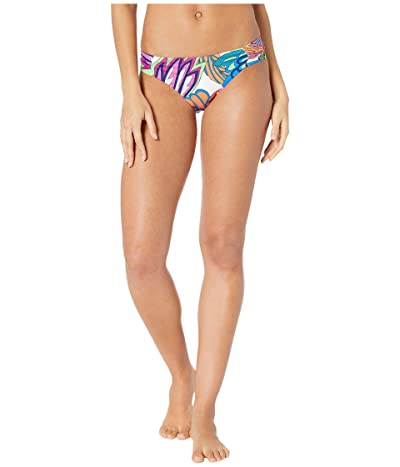 Trina Turk Paradise Plume Shirred Side Hipster Bottoms (Multi) Women