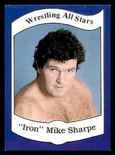 1983 Wrestling All Stars Series A #12 Iron Mike Sharpe Ex-Mint
