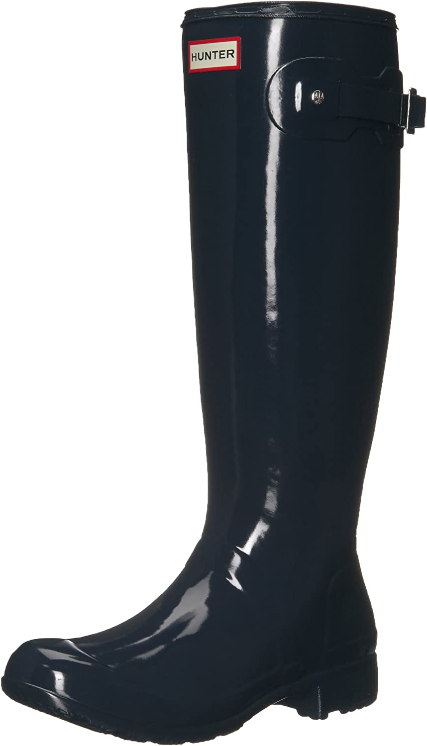 Hunter Womens Original Tour Gloss Galoshes Snow Wellingtons Rain Boots