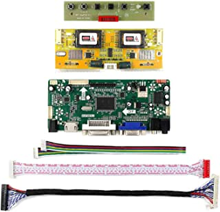 Yadianna LCD Driver for 17 M170En05 Hdmi Dvi Vga Audio LCD Controller Board 4Ccfl Inverter Board M170En06 1280X1024 Resolu...