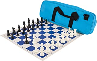 The House of Staunton Deluxe Chess Set Combination - Triple Weighted - by US Chess Federation