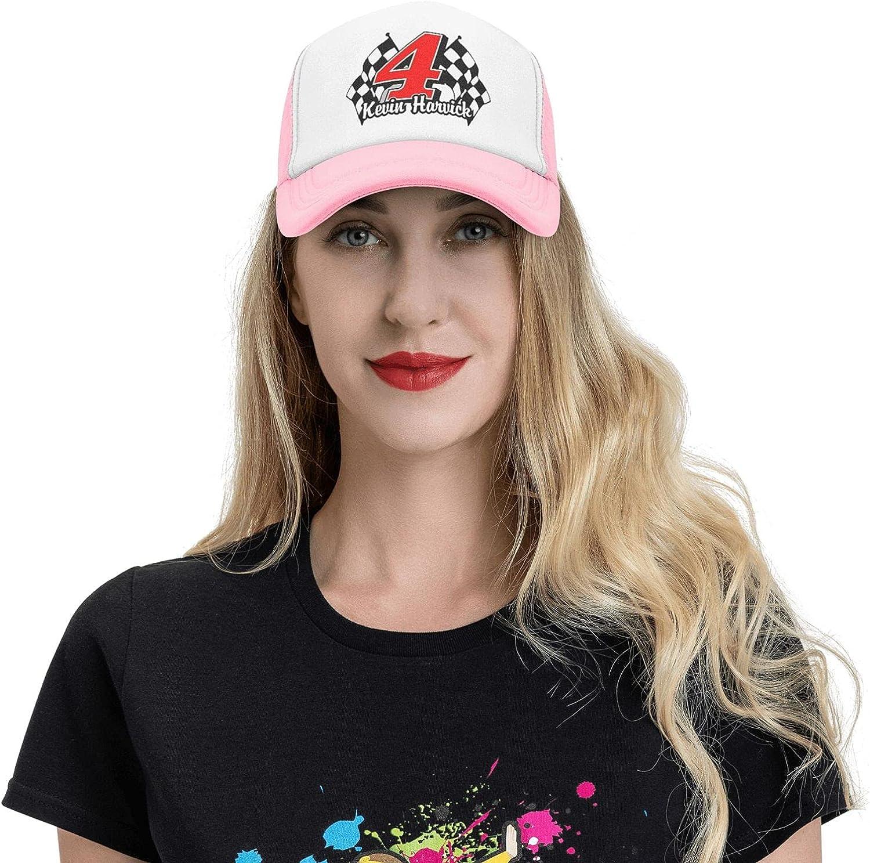 Kevin Car+4 Har-Vick Trucker Mesh Hats for Men and Women,Summer Mesh Sandwich Cap Dad Hats Baseball Hat