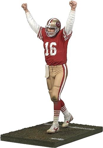 McFarlane Toys - NFL Football Legends série 4 figurine Joe Montana 15 cm