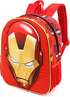 Iron Man Armour-3D Rucksack (Klein) Mochila Infantil 31 Centimeters 8.5 Rojo (Red)