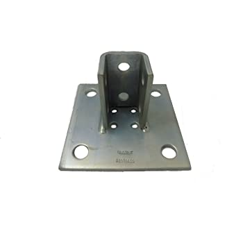 Unistrut Unistrut P1377GR U-Shaped Fitting 7-1//4 in L x 1-5//8 in W 4 Holes P1010 P5510 Channel for Use with P1000 P4010