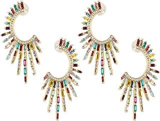 Earrings, Simple Metal Earrings, Irregular 2Pair Fashion Earrings, for Girlfriends Wives