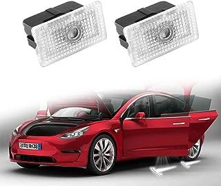 Motrobe Tesla model 3 Ultra-Bright Step LED Puddle Door Lights Car Logo Projector Welcome Light, Gen 2