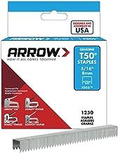 Best arrow t50 5 16 staples Reviews
