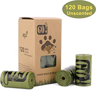 Large Dog Poop Bags, Dog Waste Bags 15X11inch Refill Rolls, Blue