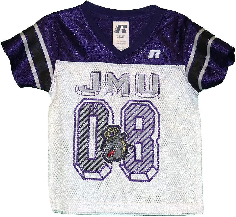 RussellApparel NCAA James Madison University Infants Toddlers Football Jersey