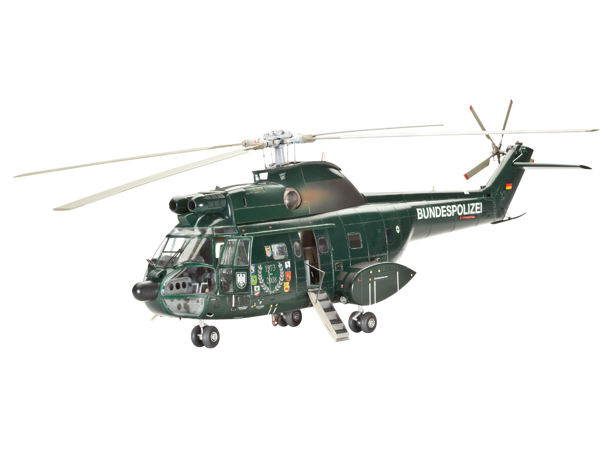 Revell 04412 - Maqueta de helicóptero SA330 Puma de la policía ...