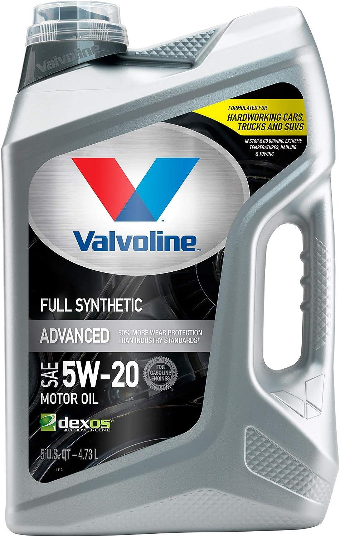Valvoline Advanced Full Synthetic SAE 5W-20 Motor Oil
