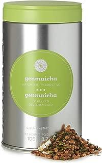 DAVIDsTEA Genmaicha Loose Leaf Tea Perfect Tin, Premium Japanese Green Tea with Roasted Brown Rice, Sweet, Toasty and Energizing, 106 Grams / 3.7 Ounces