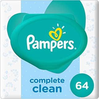 Pampers Complete Clean, 64 Wet Wipes