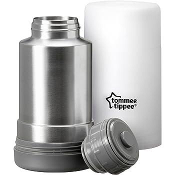 Tommee Tippee Viaje Portátil leche Calientaplatos matraz de Acero Inoxidable Libre De Bpa