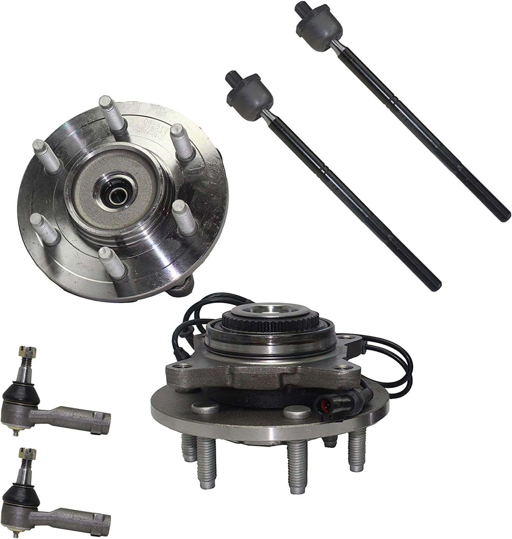 Detroit Axle - Pair 2 Front and Wheel w Bearing 国内正規品 Assemblies Hub 販売