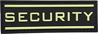 Security Glow in The Dark 3D PVC Rubber Tactical Uniform Patch Airsoft with Hook Fastner by uuKen Tactical Gear