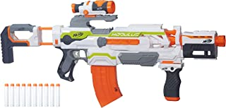 Nerf Modulus - ECS 10 Motorised Blaster Inc 10 Elite Darts & Accessories - Kids Toys & Outdoor Play - Ages 8+