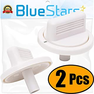 Ultra Durable WE01X10160 Timer Knob Replacement Part by Blue Stars – Exact Fit For GE Washers/Dryers - Replaces AP3207448 PS755794 WE01X10069 - PACK OF 2