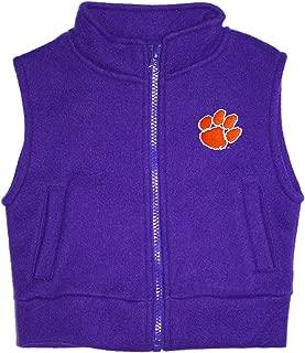 Clemson University Tigers Baby and Toddler Polar Fleece Vest