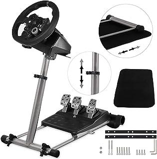VEVOR Racing Wheel Standブラケットホイールペダル ロジクール G25 G27 G29 G920 360° 対応