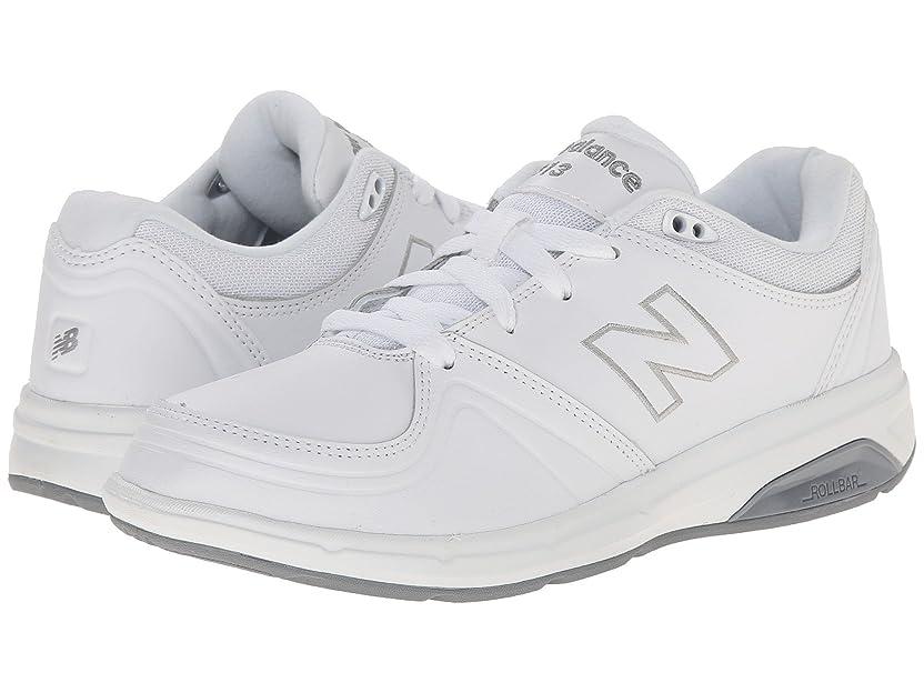 出版スープ差し迫った[new balance(ニューバランス)] レディースウォーキングシューズ?靴 WW813 White 7.5 (24.5cm) EE - Extra Wide [並行輸入品]