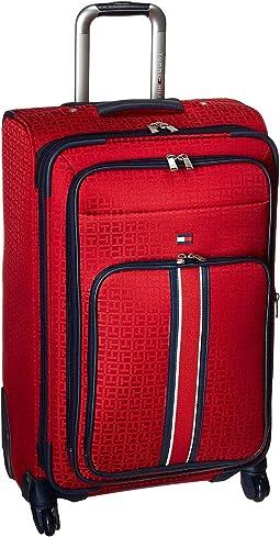 """Classic Signature Jacquard 25"""" Upright Suitcase"""