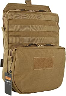 plate carrier hydration pack
