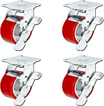 Best heavy duty casters with brake Reviews