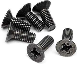 HPI Racing Z526 Counter Sunk Screw, M3 x 8mm (6)