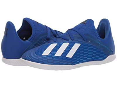 adidas Kids X 19.3 IN J Soccer (Little Kid/Big Kid) (Team Royal Blue/White/Black) Kids Shoes
