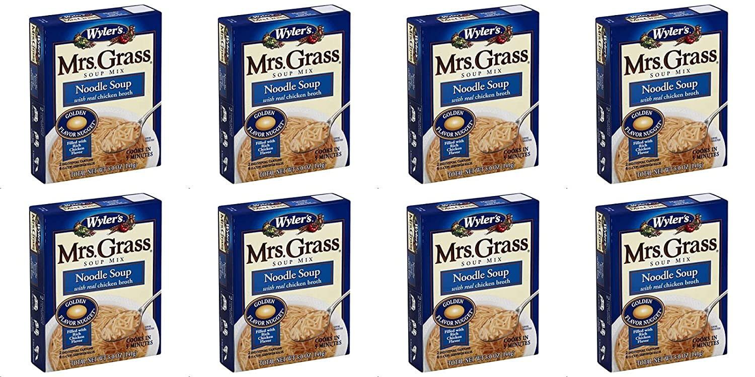 Mrs Now on sale Grass Mix Soup Chicken Noodle Latest item Pack Oz 5 of 8