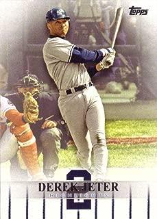 2018 Topps Target Derek Jeter Highlights #DJH-17 Baseball Card - First Career Home Run on April 2, 1996