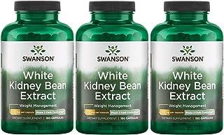 Sponsored Ad - Swanson White Kidney Bean Extract 500 mg 180 Caps 3 Pack
