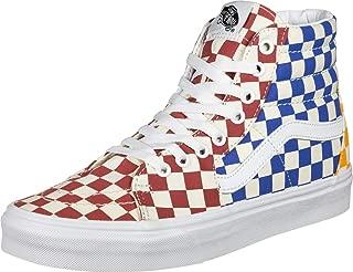 Sk8-Hi (Checkerboard) Multicolor/True White