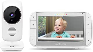 Motorola MBP48 Digital Video Audio Baby Monitor with 5-Inch Color Screen