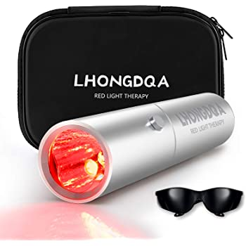 LHONGDQA Red Light Therapy Device -Pain Relief Therapy Device for Joint and Muscle Pain Great for Back, Neck, Shoulder, Knees, Hands,3 Wavelengths 630nm, 660nm and 850nm Therapy