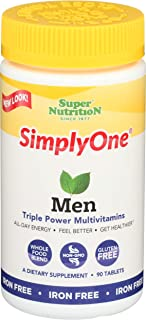 Super Nutrition Simply One Men Triple Power! Multivitamin - 90 Tablets