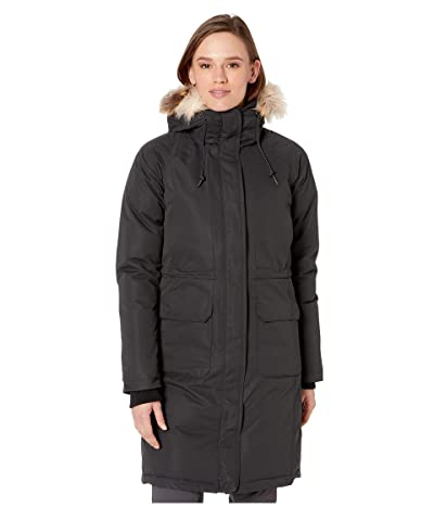 Columbia South Canyon Down Parka (Black/Black Sherpa) Women