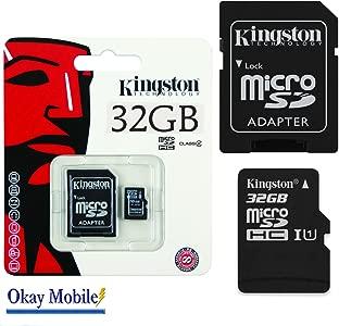 Original Kingston 32GB MicroSD Memory Card for Samsung Galaxy J3 nbsp ...