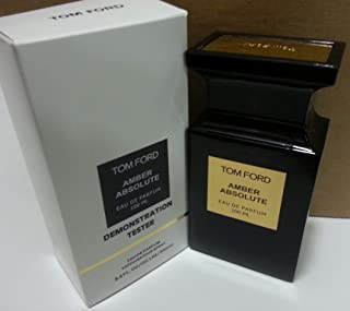 100% Pure TOM FORD Private Blend Amber Absolute EDP Eau De Parfum 100ml India - 1 Tester
