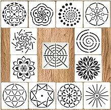 spiral flower template